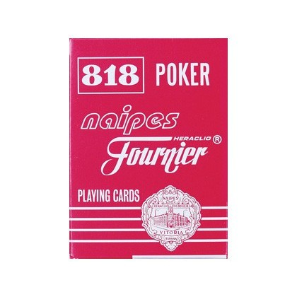 BARAJA FOURNIER POKER INGLÉS Y BRIDGE -818-55