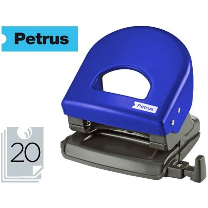 Barrinador PETRUS 62 COLOR -blau -CAPACITAT 20 FULLS