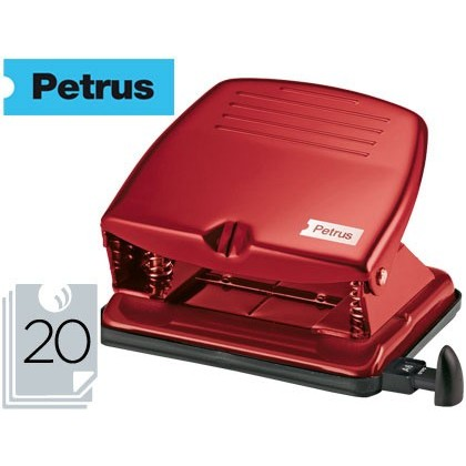 Barrinador PETRUS 65 COLOR -BURDEOS -CAPACITAT 20 FULLS