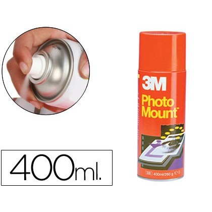 PEGA SCOTCH SPRAY PHOTO MOUNT 400 ML -Adhesiu PERMANENT