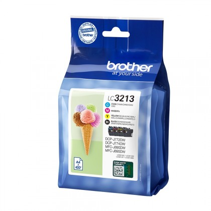 INK-JET BROTHER LC- 3213 PACK 4 COLORS