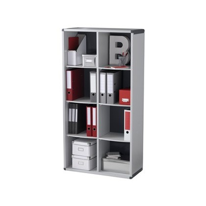MUEBLE ESTANTERIA PAPERFLOW 8 CASILLAS 1518X790X330 MM