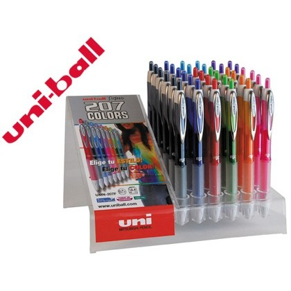 BOLIGRAFO UNI-BALL FANCY UMN 207 0,7MM TINTA GEL -COLORES SURTIDOS