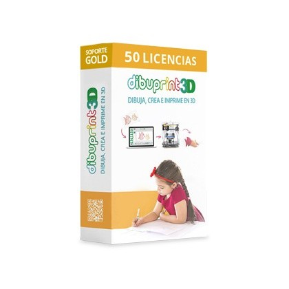 DIBUPRINT 3D COLIDO SOFTWARE ENTERPRISE SOPORTE GOLD 8X5 LICENCIAS 50