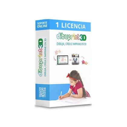 DIBUPRINT 3D COLIDO SOFTWARE SOPORTE BASIC LICENCIA 1