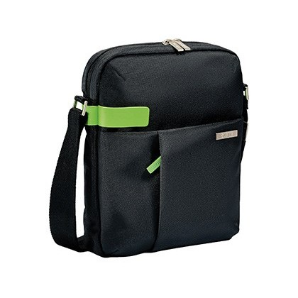 "MALETIN PARA PORTATIL ESSELTE BANDOLERA SMART TRAVELLER PARA TABLET 10"" NEGRO 50 X 280 X 230 MM"