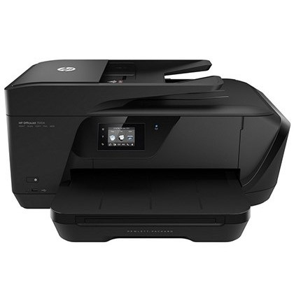EQUIPO MULTIFUNCION HP DESKJET 7510A 15 PPM NEGRO / 8 PPM COLOR COPIADORA ESCANER FAX IMPRESORA TINTA COLOR