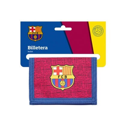 BOLSO ESCOLAR SAFTA PORTATODO F.C. BARCELONA CORPORATIVA BILLETERA 125X95 MM
