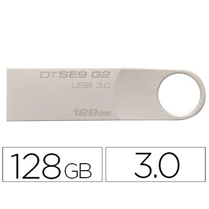 Memoria kingston data traveler se9 g2 128 gb usb 3.0