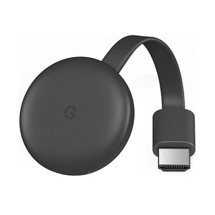 Reproductor multimedia digital google chromecast 3 full hd 1920x1080 pixeles hdmi wifi y micro usb color