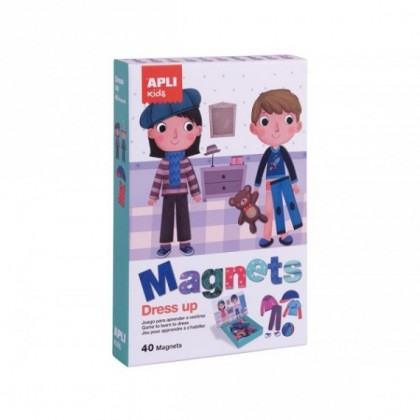 JUEGO APLI KIDS MAGNETICO DRESS UP EDUCATIVO
