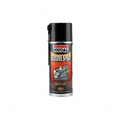 SILICONA SOUDAL TRANSPARENTE SPRAY 400ML