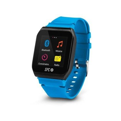 "REPRODUCTOR MP3 TELECOM FORMATO RELOJ 4GB PANTALLA DE 1,5"" TACTIL COLOR AZUL/ROSA CON BLUETOOTH"