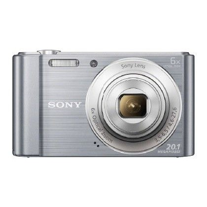 CAMARA DIGITAL SONY DSC-W810 PLATA 20,1 MPX ZOOM OPTICO 6X GRABA VIDEO HD 720P BATERIA LITIO