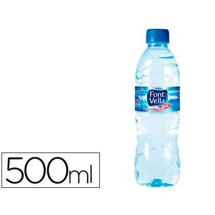 AGUA MINERAL NATURAL FONT VELLA 500ml.