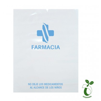 BOLSA SOBRE PERSONALIZABLE BIODEGRADABLE 18X30