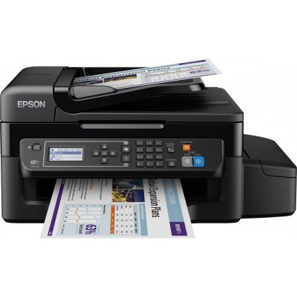 EQUIPO MULTIFUNCION EPSON ECOTANK ET-4500 INYECCION DE TINTA 33 PPM NEGRO 15 PPM COLOR USB RED WIFI