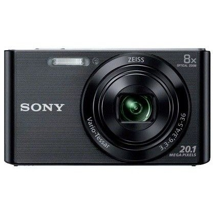 CAMARA DIGITAL SONY DSCW830B NEGRA 20,1 MPX ZOOM OPTICO 8X GRABA VIDEO HD 720P BATERIA CON CORREA DE